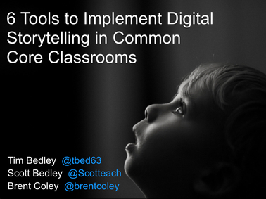 6 Tools to Implement Digital Storytelling in Common Core Classrooms